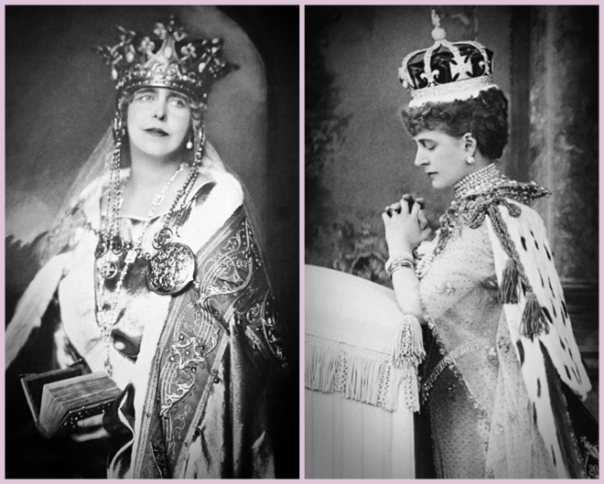 Queen Marie of Romania & Queen Alexandra of the United Kingdom